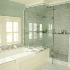 Traditional Bathroom by OLSON LEWIS + Architects