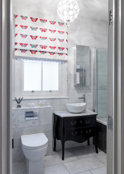 Victorian Bathroom by Town House Interiors