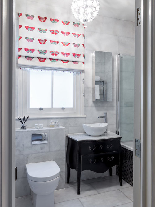 Bathroom window treatment home design ideas pictures remodel and decor for Bathroom window treatments privacy