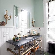 Traditional Bathroom by Thistle Beauregarde LLC