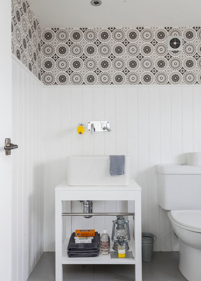 Scandinavian Bathroom by Chris Snook