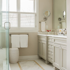 Traditional Bathroom by David Sharff Architect, P.C.