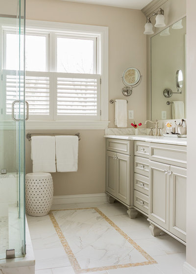 Lovely Victorian Bathroom by David Sharff Architect P C