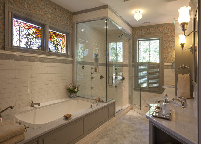 Traditional Bathroom by Siemasko + Verbridge