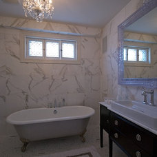Traditional Bathroom by Lucid Interior Design Inc.
