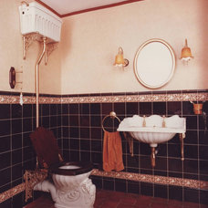 Traditional Bathroom by Celia James