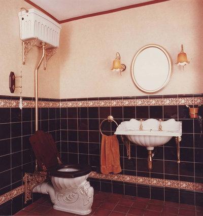 Vintage Style High Tank Toilets