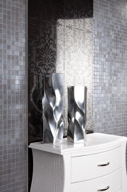 Contemporary Bathroom by American Tile and Stone/Backsplashtogo.com