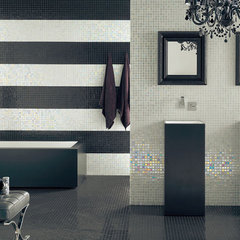 modern bathroom by American Tile and Stone/Backsplashtogo.com