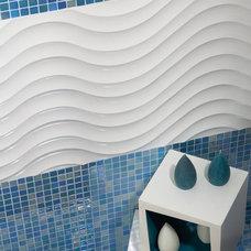 Bathroom by American Tile and Stone/Backsplashtogo.com