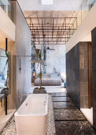 Contemporary Bathroom by Thea - Love Of Light