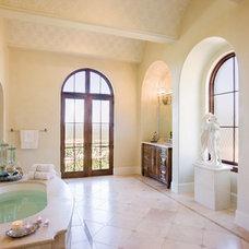 Traditional Bathroom by My Villa Austin
