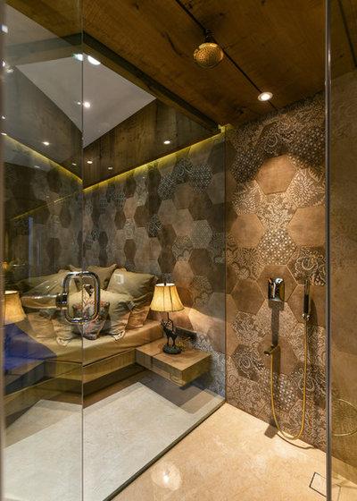 Rustic Bathroom by Prashant Bhat Photography