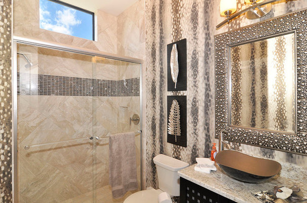 Traditional Bathroom by Harbourside Custom Homes