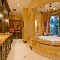 Mediterranean Bathroom by Arc Design Group