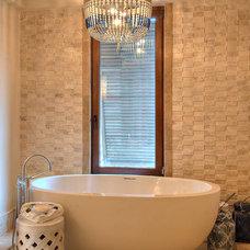 Tropical Bathroom by Tyrrell and Laing International, Inc.