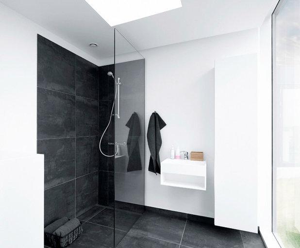 Skandinavisk Badeværelse by EFFEKT Architects ApS