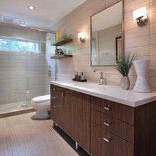 Contemporary Bathroom by Cathy Morehead