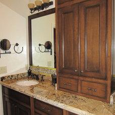Traditional Bathroom by Susan Thiel Design