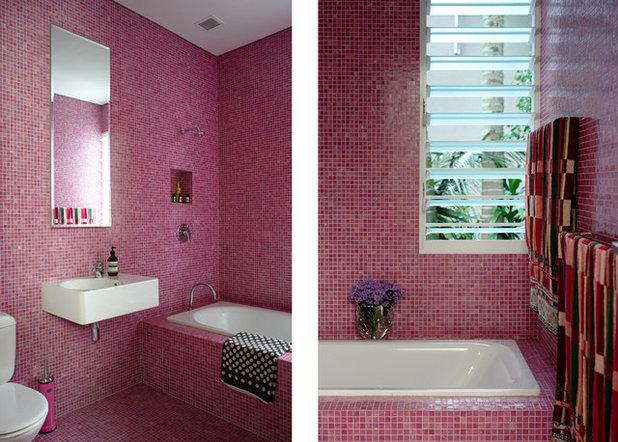 Фьюжн Ванная комната by Scott Weston Architecture Design PL
