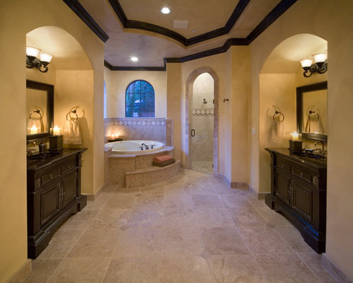 Best Tuscan Bathroom Design Ideas & Remodel Pictures | Houzz