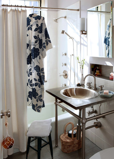 Eclectic Bathroom By Moment Design Productions Llc