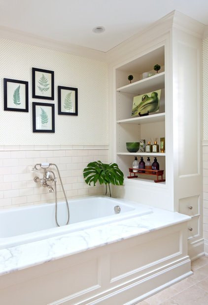Traditional Bathroom by Susan Fisher Photography