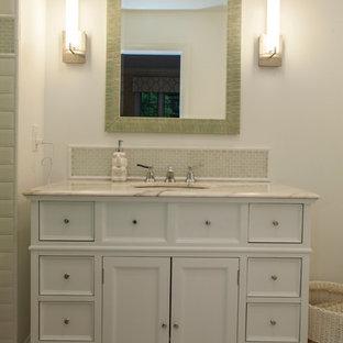 Villanova, PA : Bathroom with Multi Drawer Vanity