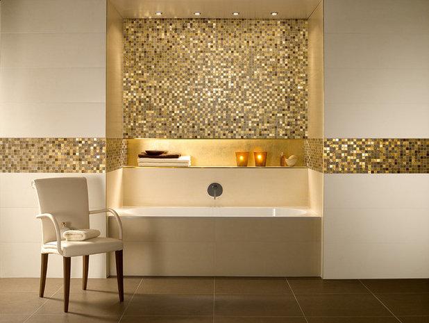 Contemporaneo Stanza da Bagno by UK Bathrooms