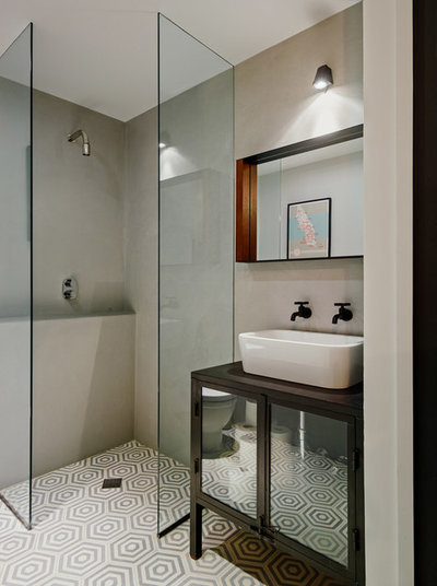Small bathroom design trends for 2015 for Latest trends in bathrooms