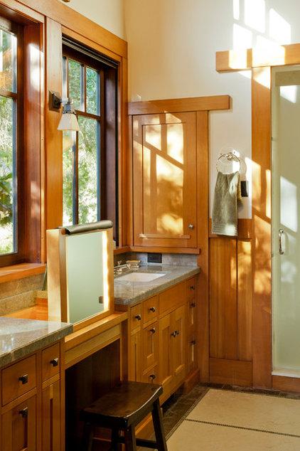 Traditional Bathroom by John Malick & Associates