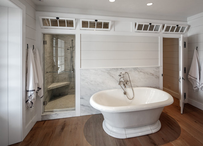 Traditional Bathroom by KATE JOHNS AIA