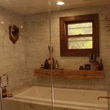Eclectic Bathroom by Kelli Kaufer Designs