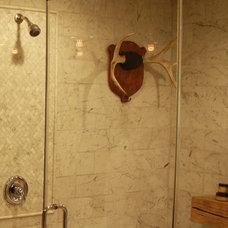 Traditional Bathroom by Kelli Kaufer Designs