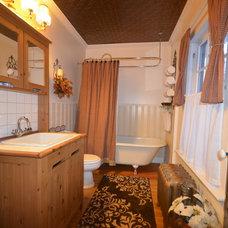 Bathroom Vintage Bathroom Makeover