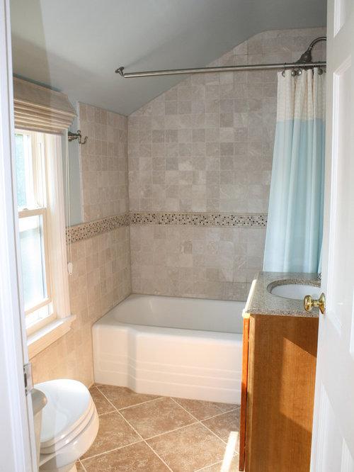 Vintage bathroom remodel houzz for Old bathroom remodel