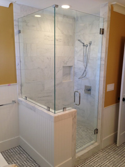 Midcentury Bathroom by Pure Tile Solutions