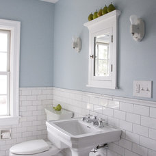 Traditional Bathroom by Whitefield & Co, LLC