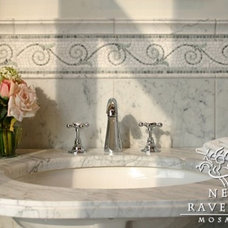 Traditional Bathroom by New Ravenna Mosaics