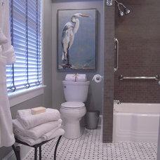 Traditional Bathroom by Jan Maloney Design