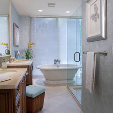 traditional bathroom by Cheryl Morgan Designs