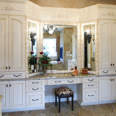 Traditional Bathroom by Studer Residential Designs