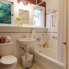 Craftsman Bathroom by Kirk Riley Design