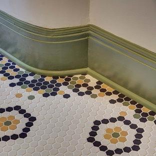 Vintage Craftsman Guest Bath