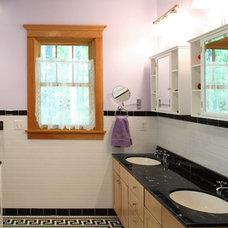 Craftsman Bathroom by Houseworks Unlimited, Inc.