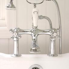 Traditional Bathroom by HomeTech Renovations, Inc.