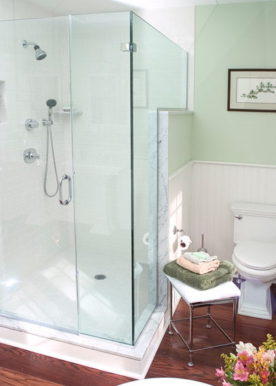 Traditional Bathroom by HomeTech Renovations  Inc. Bathroom Remodel Insight  A Houzz Survey Reveals Homeowners  Plans