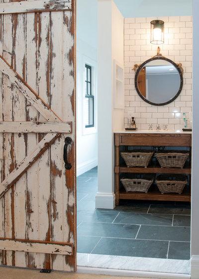Rustic Bathroom by Lemon Grass Interior Architecture