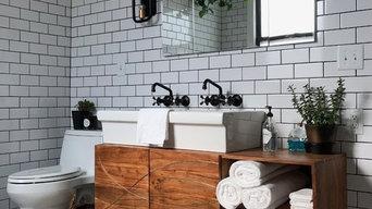 Vintage/Modern Bathroom remodel