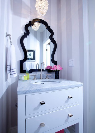 Traditional Bathroom by Kerrie Kelly Design Lab